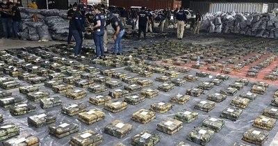 La Nación / Jueza ordenó incinerar los 2.906 kilos de cocaína incautada en un puerto de Villeta