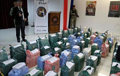 Megacarga de cocaína será incinerada por orden judicial
