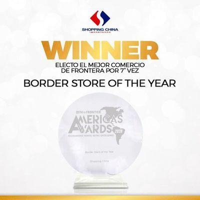 Shopping China obtiene el premio DFNI-Frontier 2020 por séptima vez