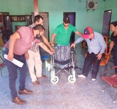 Organizan jornada de atención a personas con discapacidad