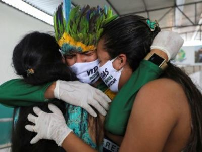 Covid-19: Brasil reporta 530 muertes en 24 horas