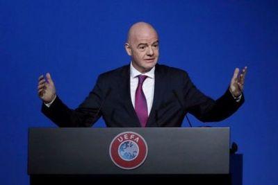 Presidente de la FIFA da positivo a la Covid-19