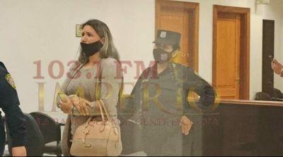 Brasileña condenada esta tarde a 7 años de prisión fue rescatada del Hospital Regional