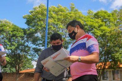 """Relevan datos para equipar """"Plazas Deportivas"""" en San Pedro y Canindeyú"""