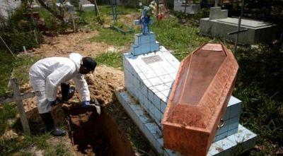 Brasil roza las 158 mil muertes por COVID-19