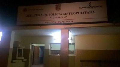 Dos presos se fugaron de una comisaría en Asunción