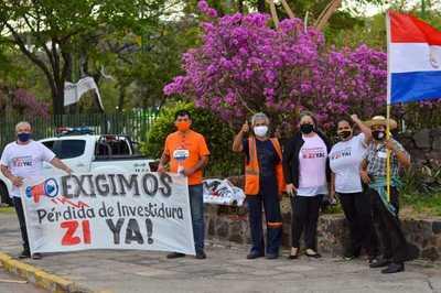 Senado trata hoy pérdida de investidura de Javier Zacarías y esteños se movilizan