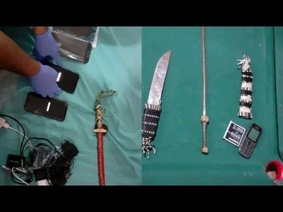 Tras denuncia de agente penitenciario, incautan celulares y armas blancas en el penal de Itapúa
