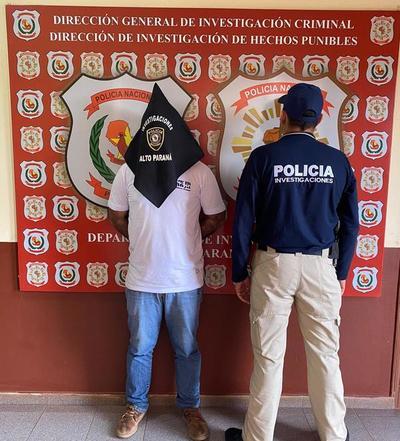 Cae auxiliar despachante como sospechoso del hurto de celulares por USD 200 mil