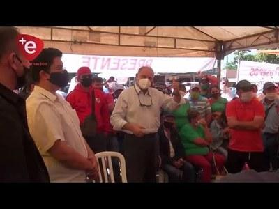 S.E.N. PROMETE ENTREGA DE VÍVERES A TRABAJADORES DE FRONTERA