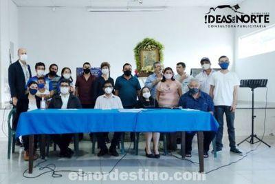 Presentación del Novenario de la Pastoral de la Sobriedad conmemorando su séptimo aniversario en Pedro Juan Caballero