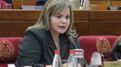 Lilian Samaniego cree que Senado no tratará destitución de Zacarías ni de Friedmann
