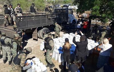 Incinerarán las casi 3 toneladas de cocaína incautada en Puerto de Villeta
