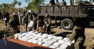 Será incinerada la carga récord de cocaína incautada en Puerto de Villeta