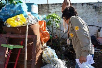 Hay que eliminar los criaderos para evitar epidemia de dengue, advierten