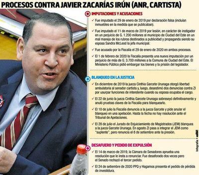 CDE: convocan vigilia para exigir expulsión de Javier Zacarías del Senado