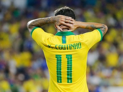 Coutinho se cae de la convocatoria de Brasil