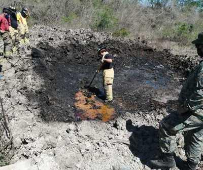 Incineran en Chaco'i la carga récord de cocaína incautada en Villeta