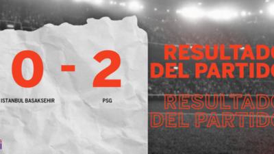 Con doblete de Moise Kean, PSG derrotó a Istanbul Basaksehir
