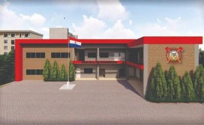 Proyectan construcción de la Escuela de Formación de Bomberos