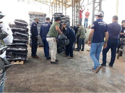 Fiscalía allana puerto privado Caacupemí, en Pilar, en busca de drogas