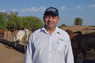 """César Borba: """"Pasto Guasu ha sido una solución fantástica para este año de sequía"""""""