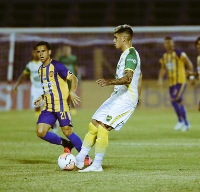 Sportivo Luqueño cayó 2-1 ante Defensa y Justicia