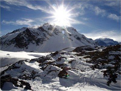 """La """"cotidiana"""" tarea de guiar hacia la cima del Aconcagua"""