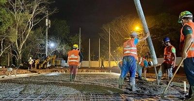 La Nación / Avanzan obras de nuevos pabellones de contingencia en Hospital de Itauguá