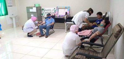 26 personas donan sangre en Tavapy durante jornada de captación