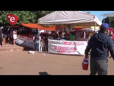 TRABAJADORES DE FRONTERA COORDINAN ENTREGA DE VÍVERES