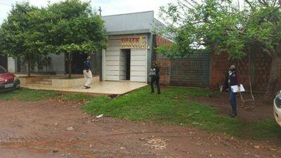 Allanamiento en la casa de la fugada Luzinei Diana Maciel condenada  a 7 años de prisión.