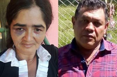 Mujer fue golpeada brutalmente por su ex pareja frente a sus hijos