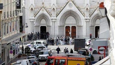Francia: Ataque terrorista en en la Basílica de Niza dejó tres muertos, uno de ellos decapitado