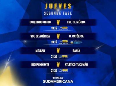 Hay más acción por la Sudamericana