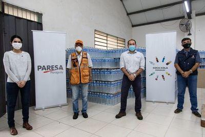 Coca-Cola Paresa y organizaciones civiles apoyan a comunidades vulnerables