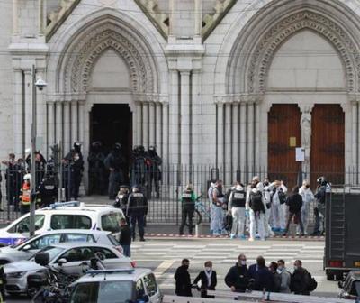 Atentado terrorista en catedral de Francia