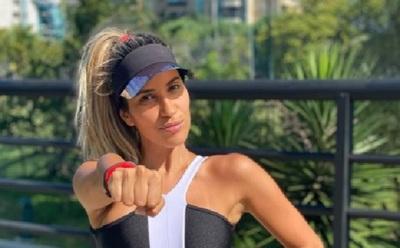 Anahí Sánchez prepara rutinas de ejercicios para ayudar a sus seguidoras