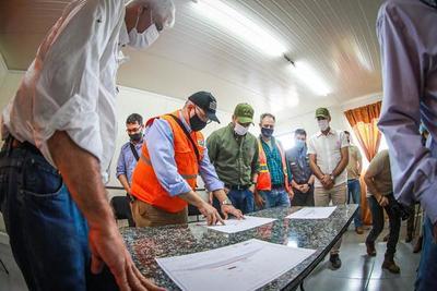 Más de US$ 2.400 millones en obras para el Chaco, señaló presidente Abdo