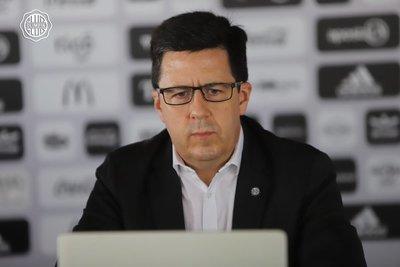 Juan Pecci Miltos asume como vicepresidente de Olimpia