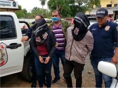 Detienen a joven y adolescente por asaltos a gasolineras
