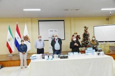 ENTREGA DE EQUIPOS E INSUMOS DE BIOSEGURIDAD DESDE EL CONSEJO DE DESARROLLO DE ITAPÚA