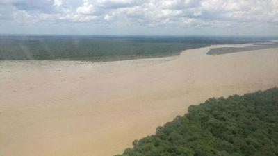Importantes lluvias en el norte contribuyen a ligera aumento de nivel del río Paraguay