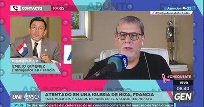 """La Nación / Atentado en Niza: """"Antes atacaban a las fuerzas de seguridad, ahora a las iglesias y escuelas"""""""