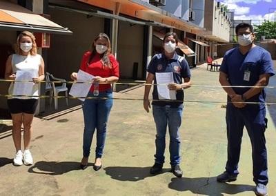 """El """"último adiós"""", pero con alegría: terminaron pacientes en albergues del Alto Paraná"""