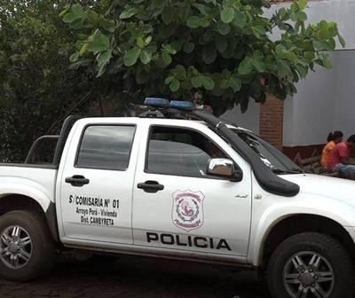 Por actitud sospechosa detienen a 4 personas en Itapúa
