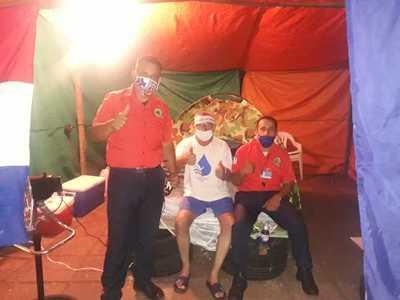Vigilantes exigen reincorporación a empresa de diputado Trinidad Colman