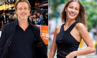 Brad Pitt y Nicole Poturalski terminaron su breve relación
