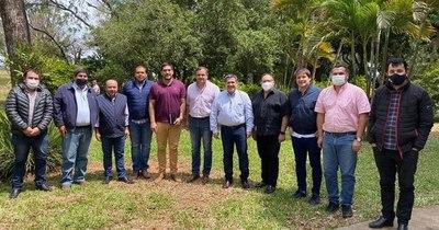 La Nación / Con Horacio Cartes en Misiones, se inician los  consensos con miras a las municipales