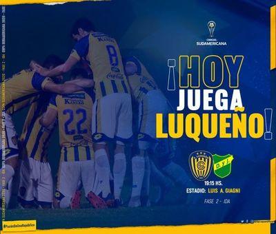 Copa Sudamericana: Sportivo Luqueño se presenta a nivel internacional